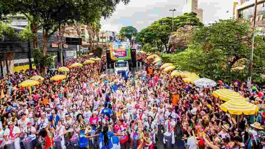 Bloco Me Lembra Que Eu Vou Carnaval de São Paulo de 2019 - Edson Lopes Jr./UOL
