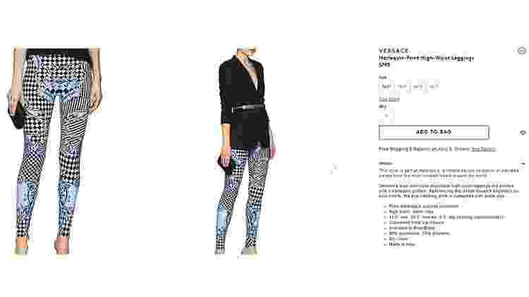 Calça Versace - Reprodução - Reprodução