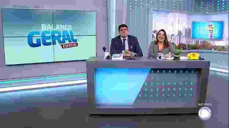 André Azeredo e Fabíola Reipert ironizaram declaração de Xuxa Meneghel - Reprodução/TV Record - Reprodução/TV Record