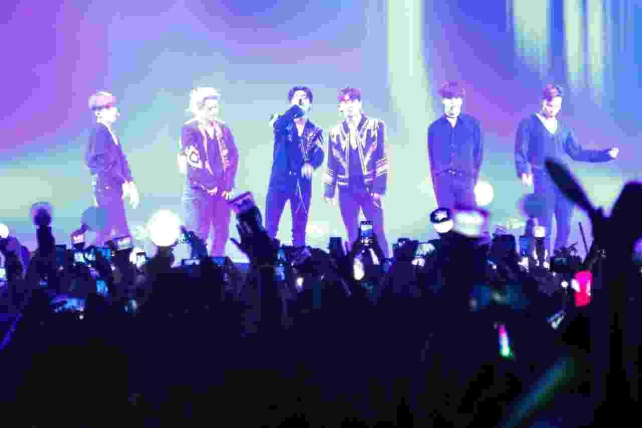 Grupo de k-pop Monsta X se apresenta no Espaço das Américas, em São Paulo - Mateus Verzola/UOL