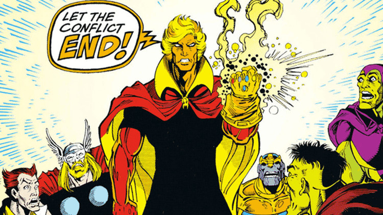 Adam Warlock, da Marvel - Reprodução