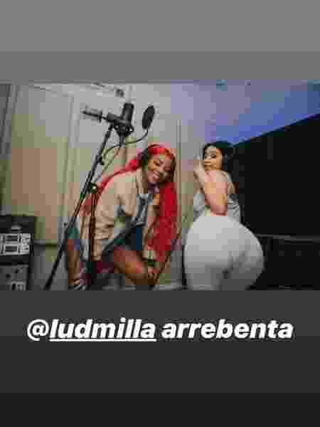 Cardi B elogia Ludmilla em post no Instagram - Reprodução/Instagram