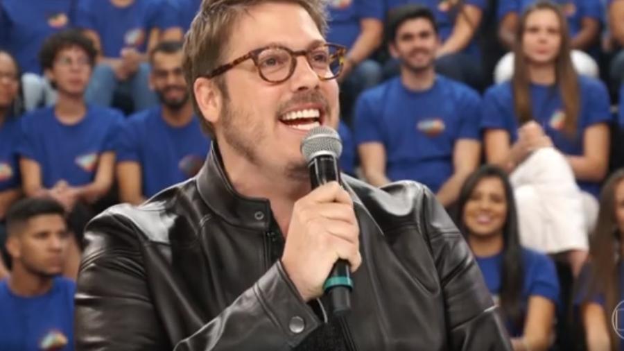 """O humorista Fábio Porchat, criador do especial """"A Primeira Tentação de Cristo"""", da Netflix - Reprodução/TV Globo"""