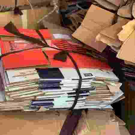 Material reciclável proveniente do casamento de Kaká e Carol Dias - Divulgação/Boutique de 3