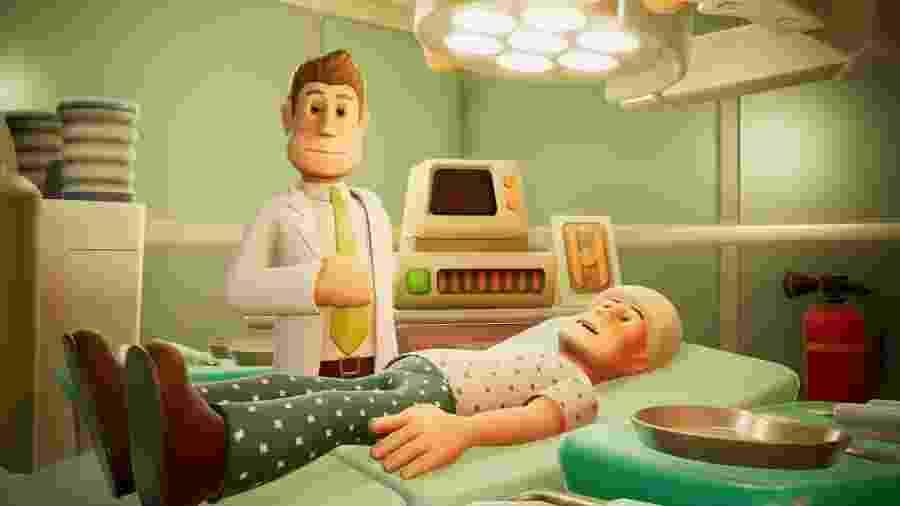 Gerencie hospitais, cuide dos pacientes e tente não rir de doenças como  - Reprodução