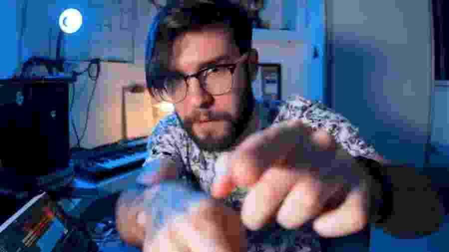 O youtuber e músico Rodrigo Souza, o Rô - Reprodução
