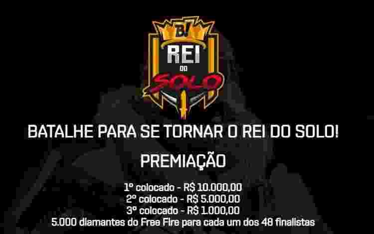 Free Fire Premiação - Divulgação - Divulgação
