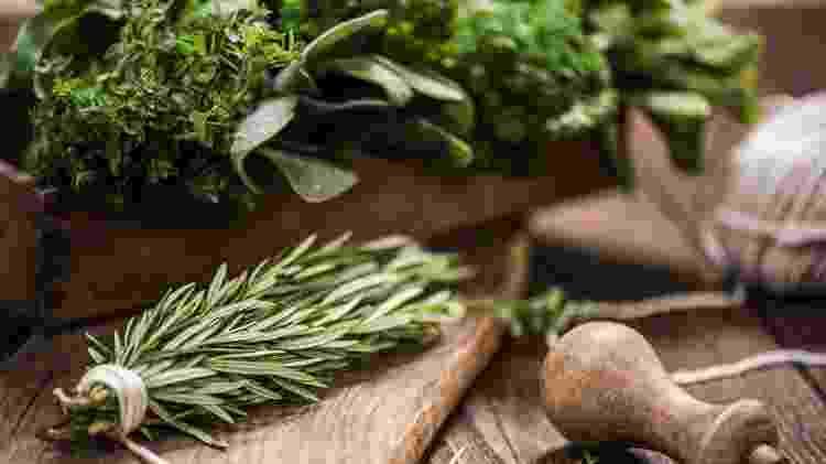 Aproveite a enorme variedade de ervas e opte sempre pelas mais frescas - Getty Images - Getty Images