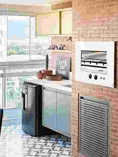 Churrasqueira no apartamento - gás - Reprodução/Pinterest - Reprodução/Pinterest