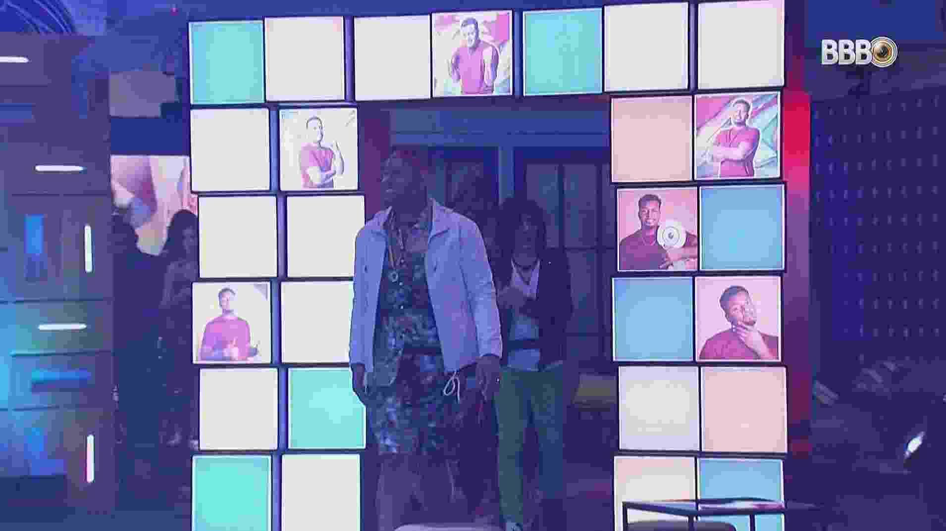 BBB 21: Nego Di chega para sua festa - Reprodução/Globoplay