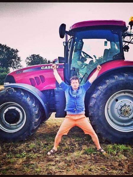 Jamie Oliver em imagem de 2013 - Reprodução/Instagram