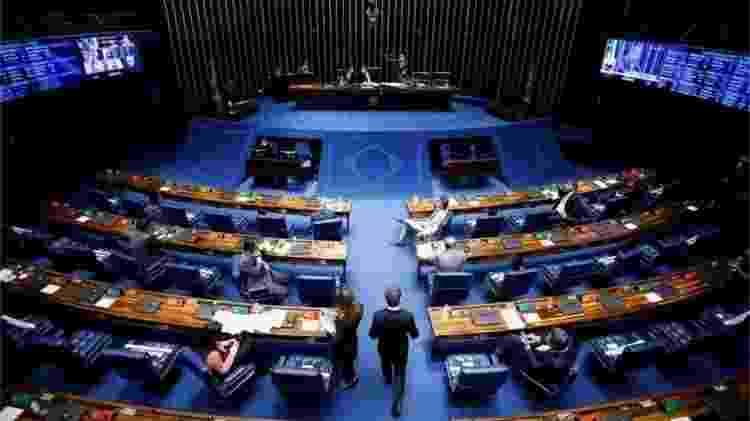Dos 81 parlamentares em exercício no Senado, apenas 12 são mulheres (menos de 15%) - REUTERS/ADRIANO MACHADO - REUTERS/ADRIANO MACHADO