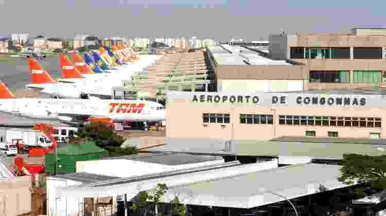 Aeroporto de Congonhas - Repprodução/Agência Brasil - Repprodução/Agência Brasil