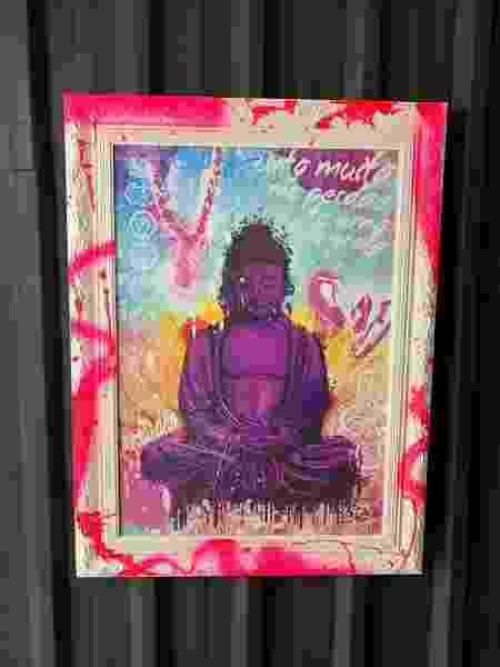 Quadro Buda é a cara de Peixes - divulgação - divulgação