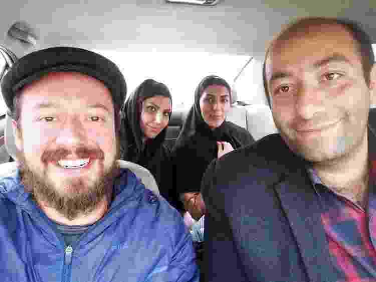 """De carona com uma família nas estradas do Irã: """"Nunca vi tanta gente hospitaleira"""" - Arquivo pessoal - Arquivo pessoal"""