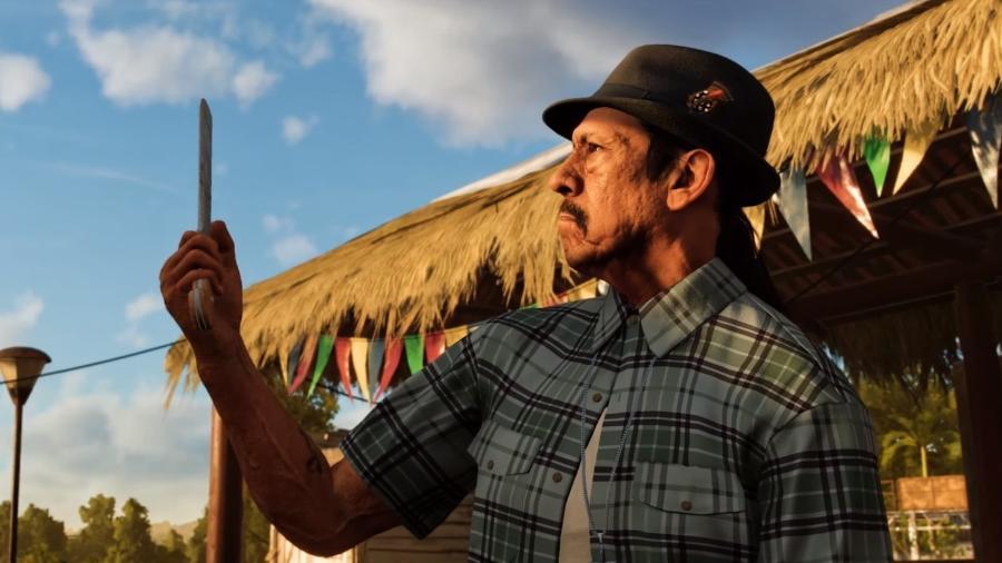 Far Cry 6 terá Danny Trejo como personagem - Reprodução/YouTube