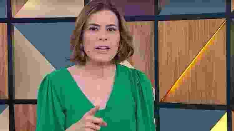 Michelle Loreto - Reprodução/TV Globo - Reprodução/TV Globo