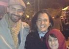 Em clima família, pais levam garoto de 12 anos para conhecer a Virada - Felipe Abílio/UOL