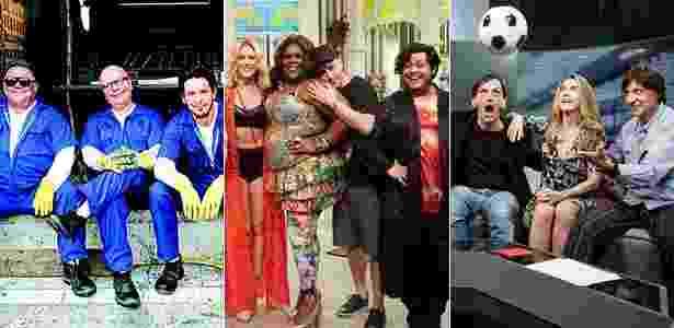 GNT, Multishow e SporTV fazem parte da Globosat - Divulgação/Montagem UOL