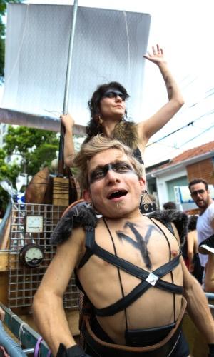 6.fev.2016 - Bloco Bastardo nas ruas de Pinheiros