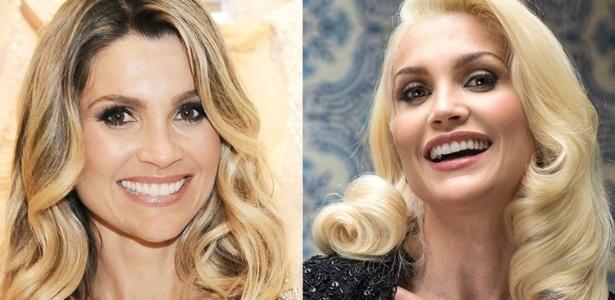 Entre as famosas, Flávia Alessandra se entregou ao platinado - Divulgação/AgNews
