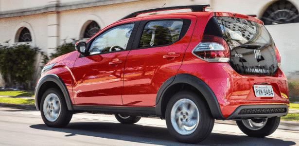 Fiat Mobi Way On - Divulgação - Divulgação