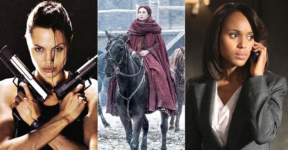 "A voz de Melisandre (Carice van Houten), que ressuscitou Jon Snow (Kit Harington) na sexta temporada de ""Game of Thrones"", era de Sarito Rodrigues (Angelina Jolie em ""Lara Croft""), mas foi trocada para Adriana Pissardini, dubladora de Kerry Washington, protagonista da série ""Scandal"""