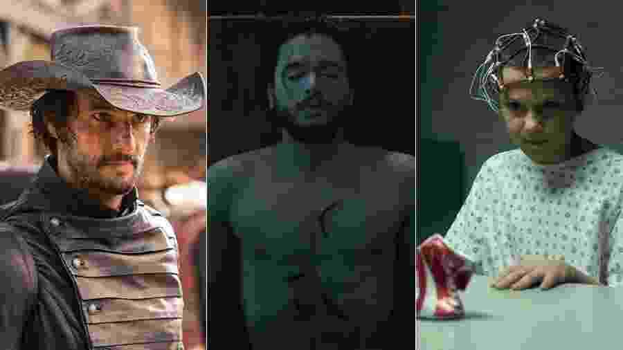 """""""Westworld"""", """"Game of Thrones"""" e """"Stranger Things"""" estão entre as séries mais vistas de 2016  - Divulgação/HBO/Netflix"""