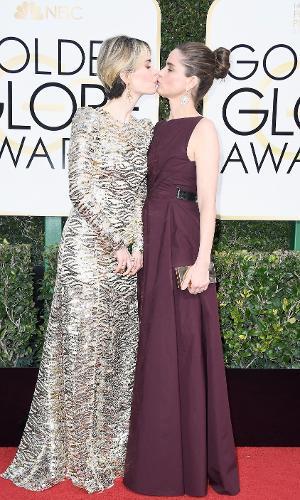 Golden Globes 2017: Sarah Paulson e Amanda Peet