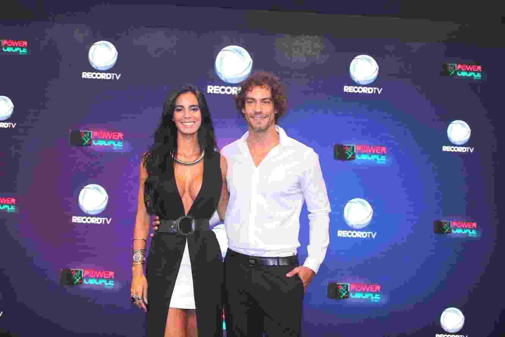 O casal de modelos Lorena Bueri e Diego Cristo - Thiago Duran/AgNews