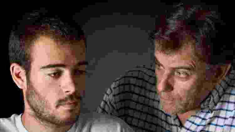 Pai conversando com o filho adolescente - Getty Images - Getty Images