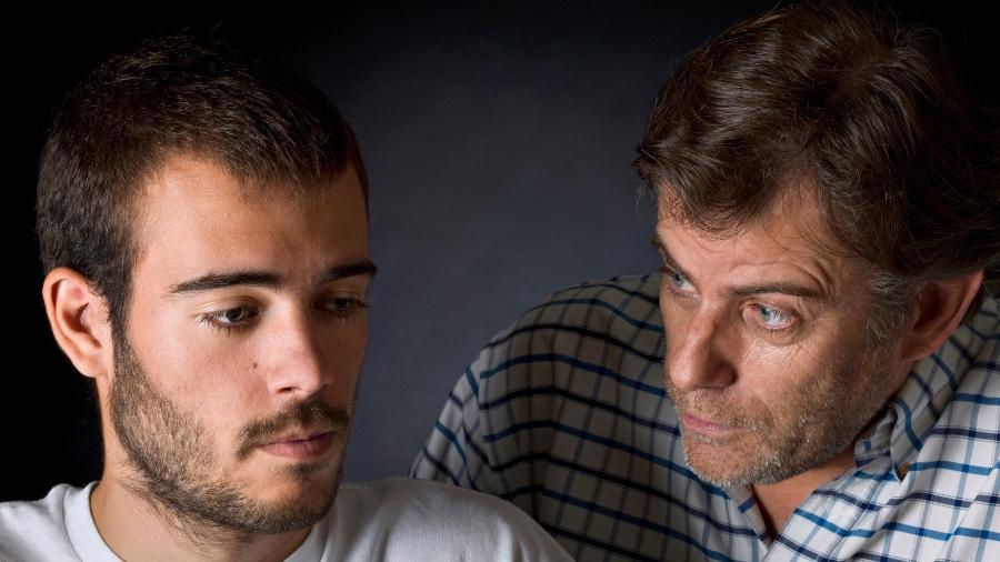 Dar lição de moral no filho adolescente é um dos erros comuns dos pais - Getty Images