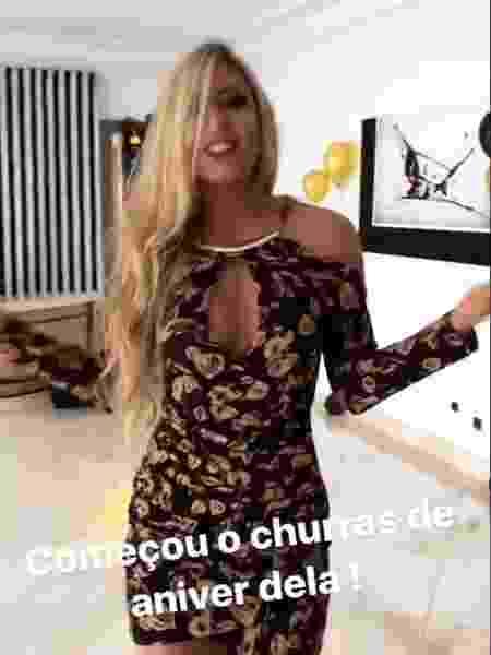 Latino posta comemoração do aniversário da namorada, Jéssica Rodrigues - Reprodução/Instagram - Reprodução/Instagram