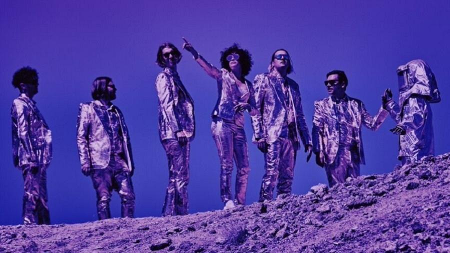 Integrantes do Arcade Fire em imagem de divulgação - Divulgação