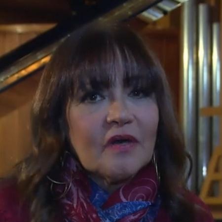 """A cantora Claudya no """"Video Show"""" - Reprodução/TV Globo"""