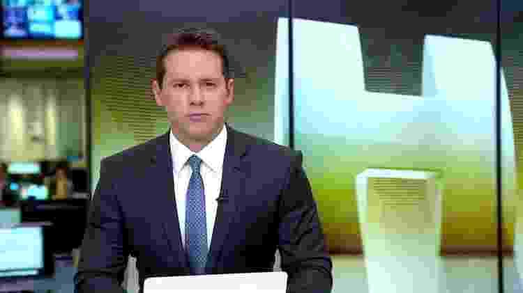 """O apresentador do """"Jornal Hoje"""", Dony de Nuccio, apresentará o """"Fantástico"""" nas férias de Tadeu Schmidt - Reprodução/TV Globo - Reprodução/TV Globo"""