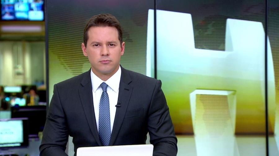 """O apresentador do """"Jornal Hoje"""" Dony de Nuccio - Reprodução/TV Globo"""