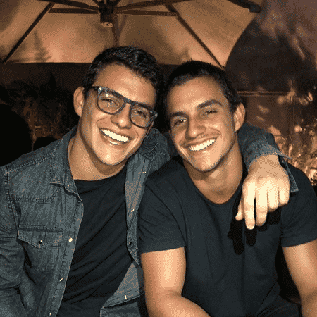 Antônio e Manoel participam do programa de Caio Fischer - Reprodução/Instagram/antonio_rafaski