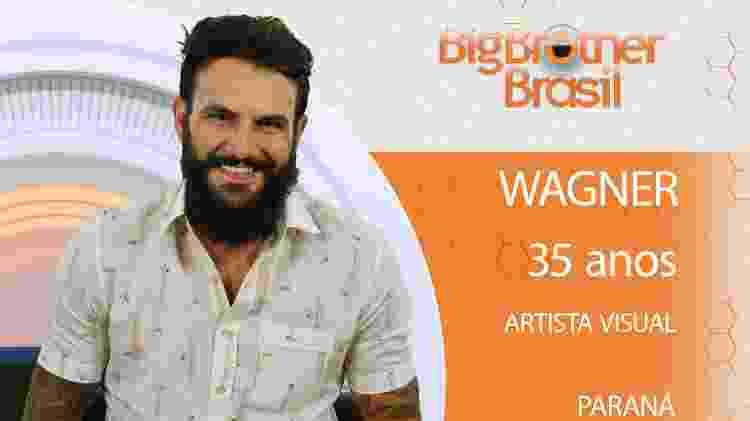 Wagner do BBB18 - Divulgação/TV Globo - Divulgação/TV Globo