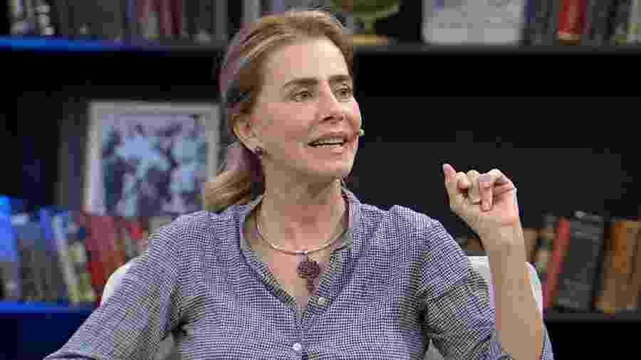 """Maitê Proença explica pensão que recebe do governo no programa """"Mariana Godoy Entrevista"""", da RedeTV! - Divulgação/RedeTV!"""