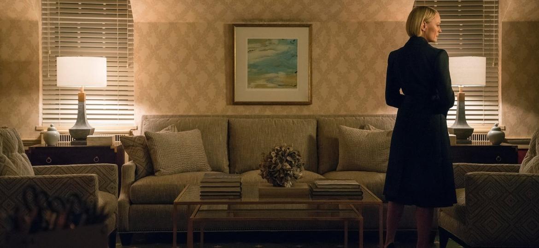 """Robin Wright retorna como Claire Underwood na última temporada de """"House of Cards"""" - Divulgação"""