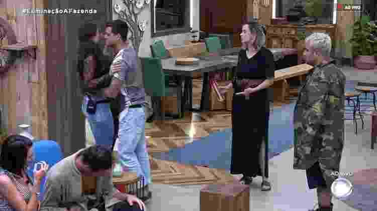 Fernada e Ana Paula - Reprodução/RecordTV - Reprodução/RecordTV