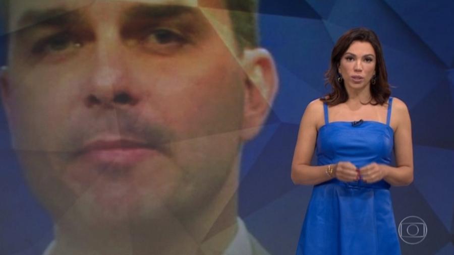 Globo critica Record e RedeTV! por entrevistas com Flávio Bolsonaro - Reprodução/TV Globo