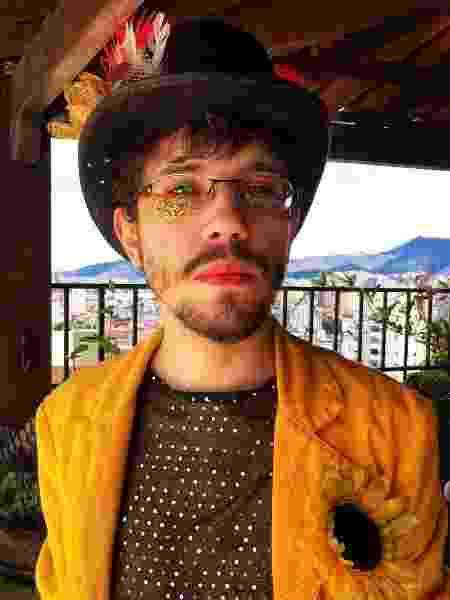 O cantor Octavio Cardozzo - Instagram/Reprodução