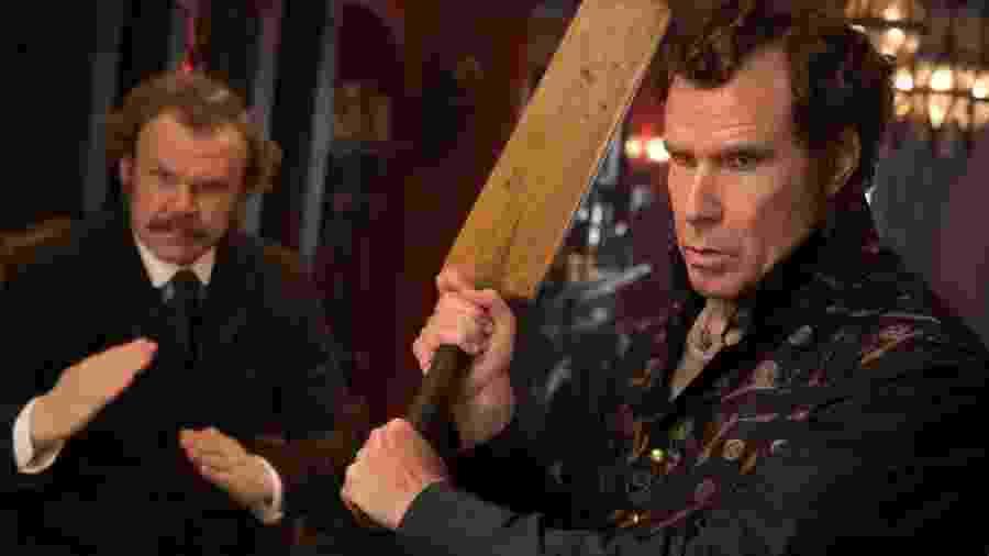 """Cena do filme """"Holmes & Watson"""" - Divulgação"""