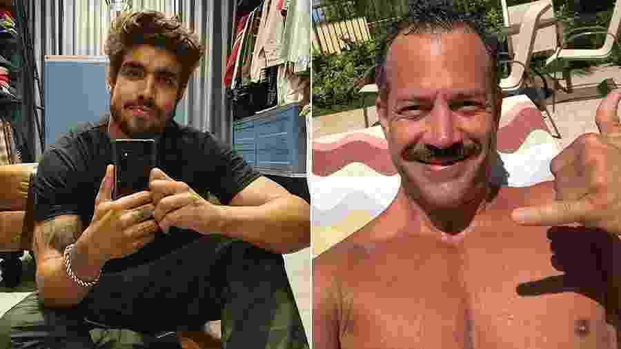"""Caio Castro e Malvino Salvador serão casal em """"A Dona do Pedaço"""" - Reprodução/Instagram"""