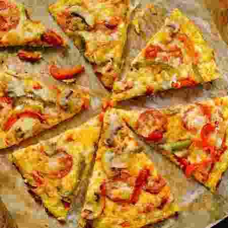 Pizza de couve-flor - iStock - iStock