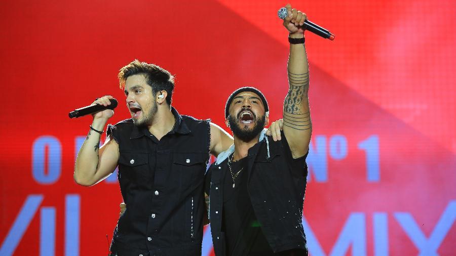 Luan Santana canta com Saulo de Tarso é o vencedor do reality show O Próximo Nº1 VillaMix - Wildes Barbosa/Divulgação