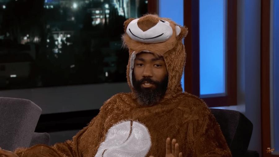 Donald Glover, o Simba do novo O Rei Leão, dá entrevista a Jimmy Kimmel - Reprodução/YouTube