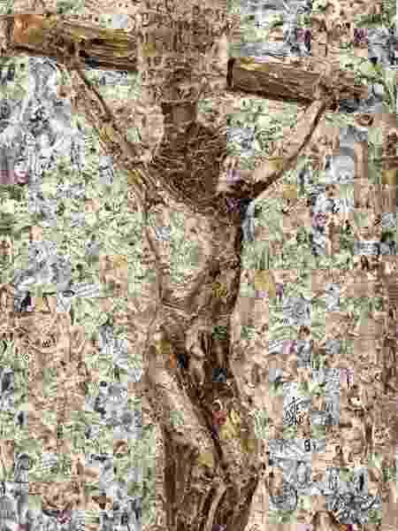 Crucificação, de Vik Muniz - Divulgação